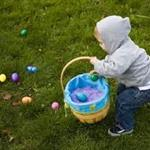 Picture Boy with Easter Basket