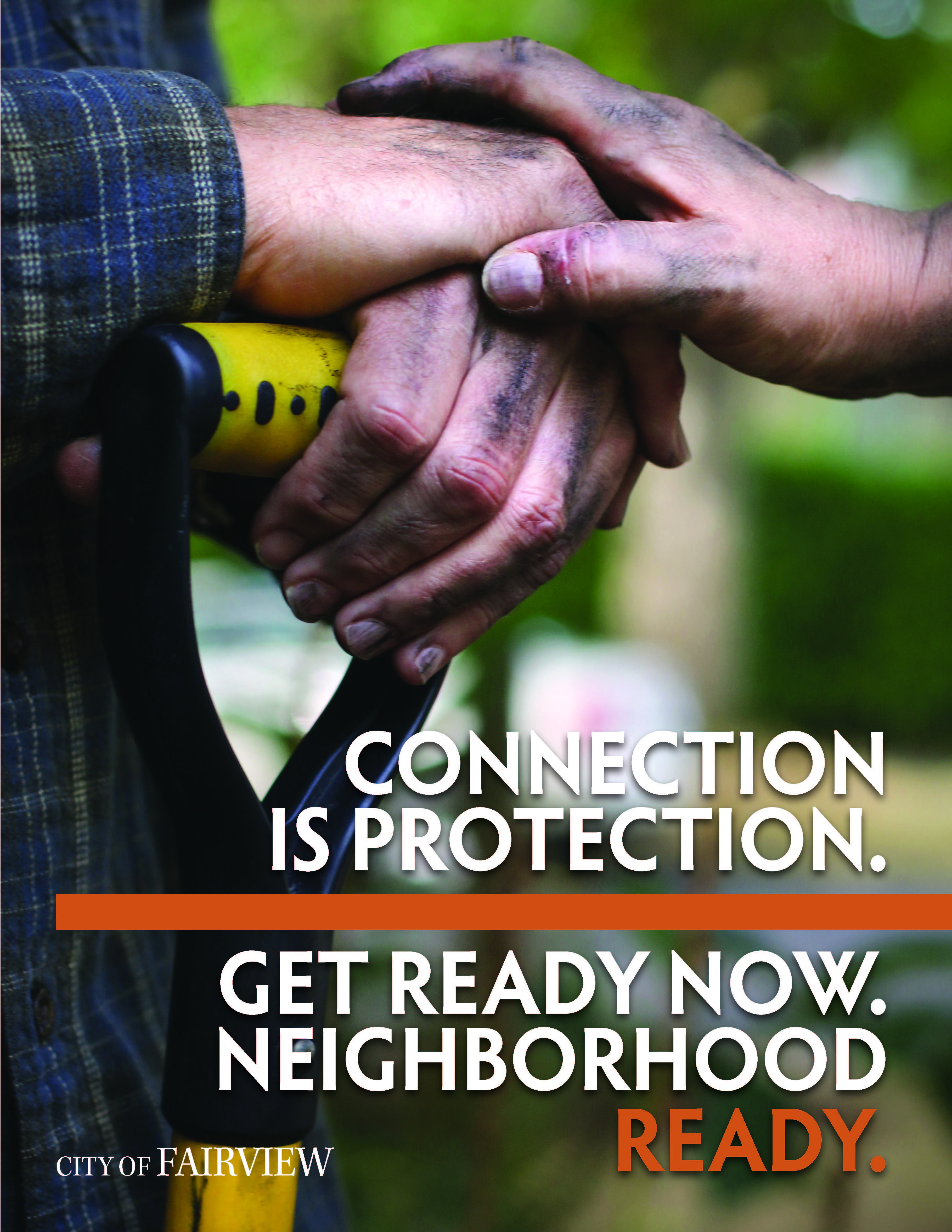 Connection is Protection Cover Page